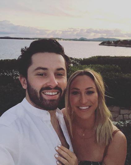 Baker-Mayfield-Wife