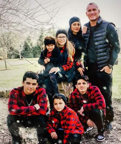 Kim-Marie-Kessler-Randy-Orton-Family
